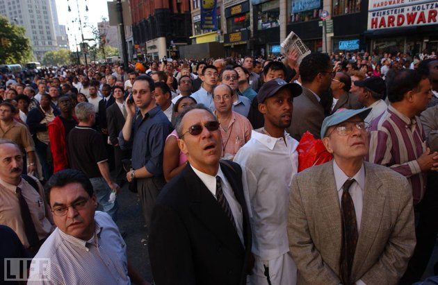New Yorkers on 9/11/01