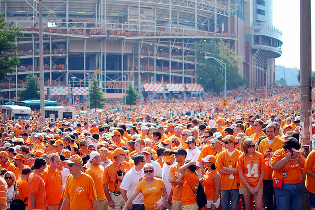 Knoxville, Tennessee: Life is Orange and White
