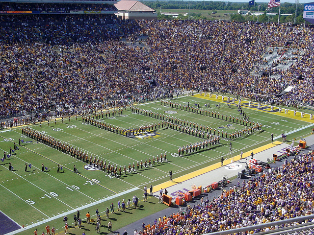 Baton Rouge, Louisiana: Tailgates & Tiger Bait