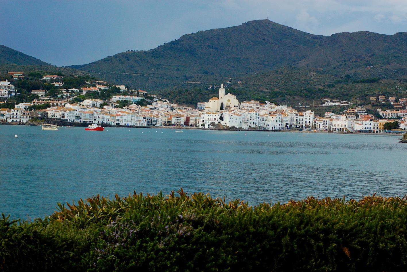 Visiting Cadaqués, Spain city view