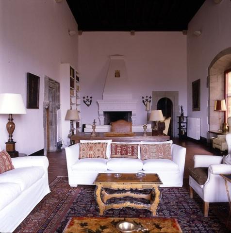 Castle Living Room Costa Brava Spain
