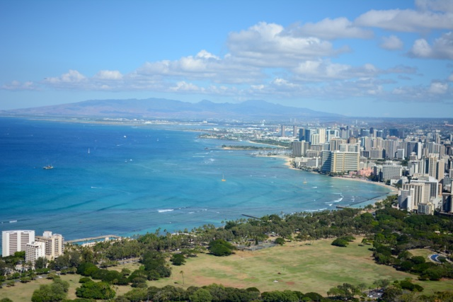 Hiking O'ahu's Diamond Head Crater
