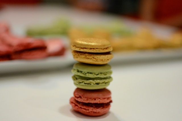 Making French Macarons in Paris