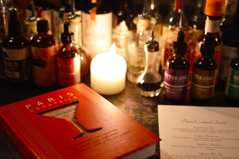 Paris Cocktails Book