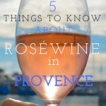Rosé Wine from Provence France Pinterest Image