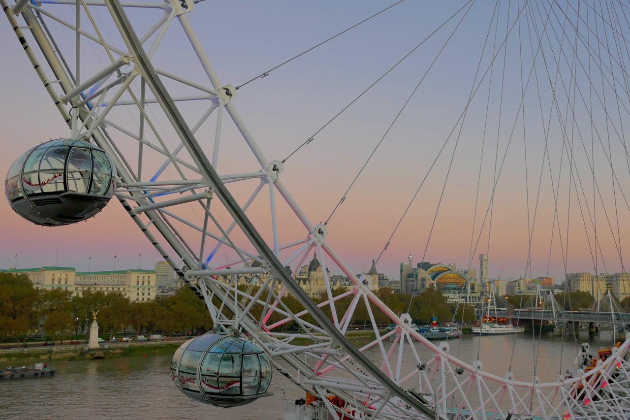 London Eye at Sunrise