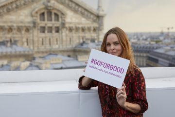 The Galeries Lafayette Go for Good Campaign