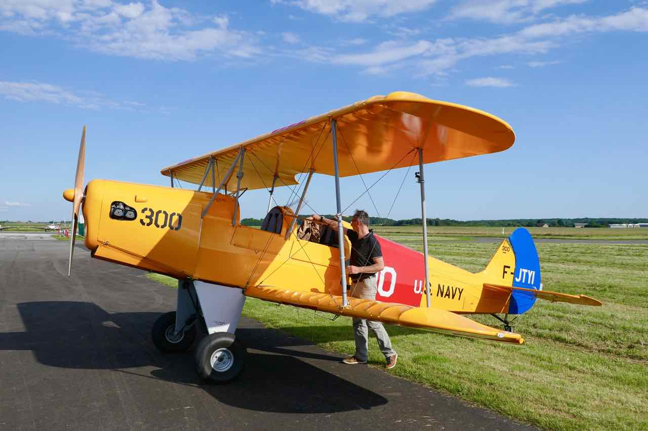 Things to do in the Loire Valley bi-plane