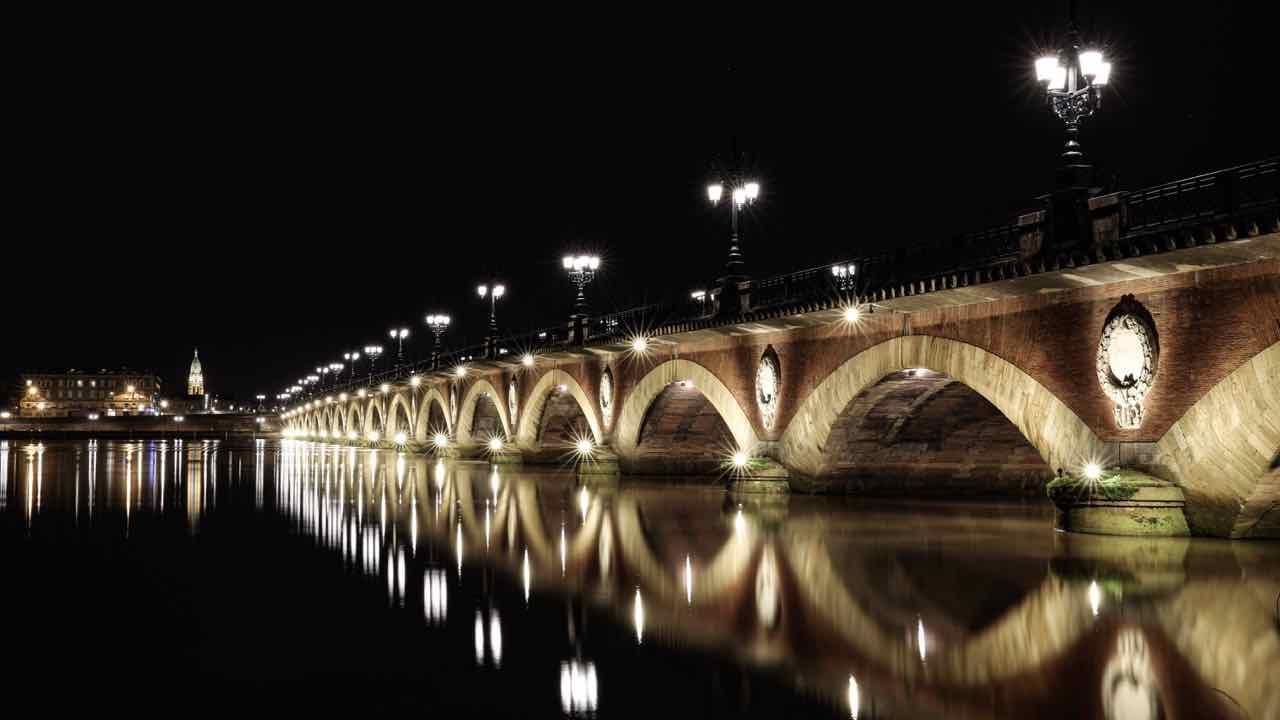 Bordeaux Night Bridge