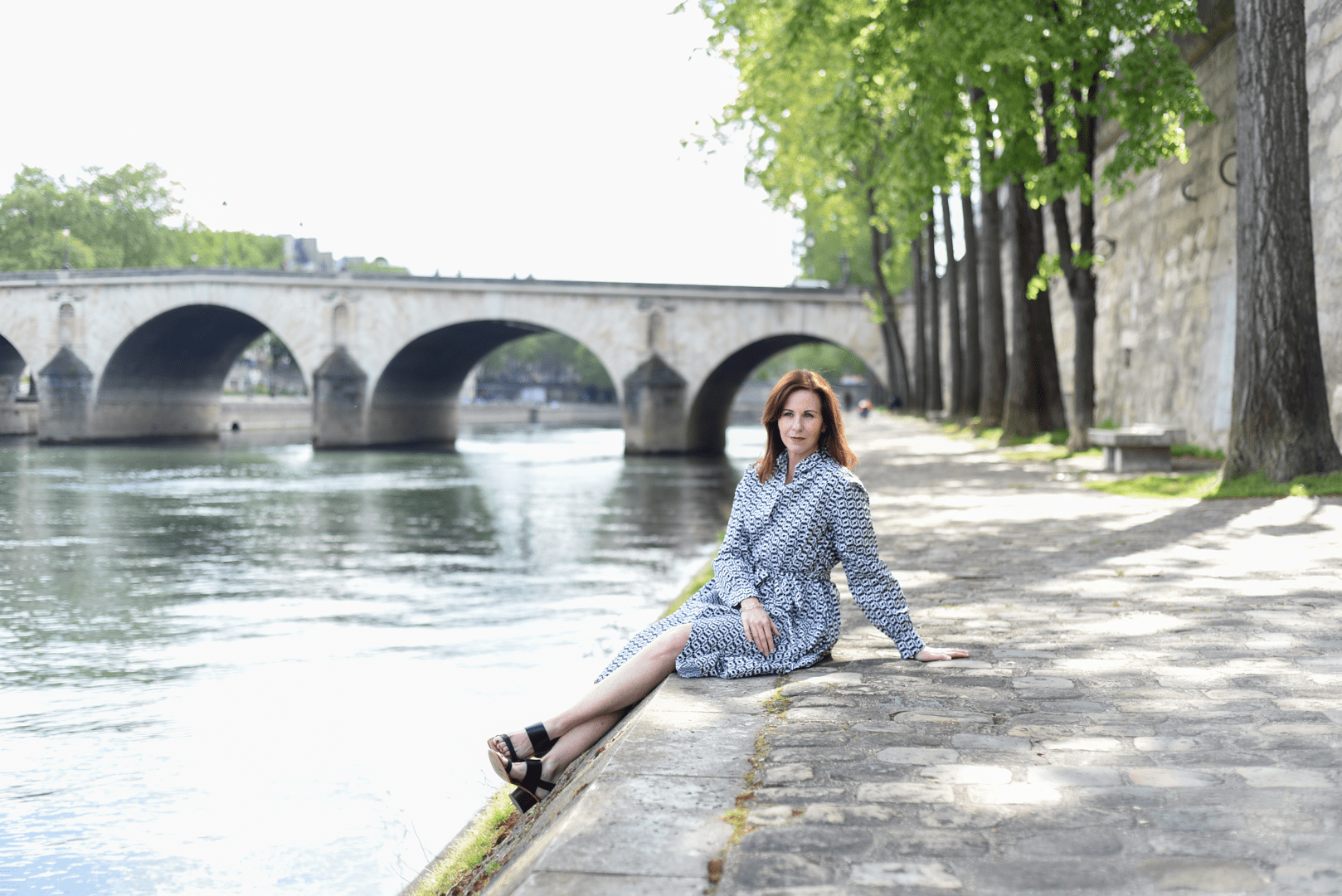 Leah Travels Spring Seine River Paris
