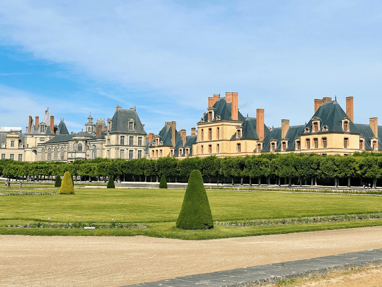 château de fontainbleau gardens