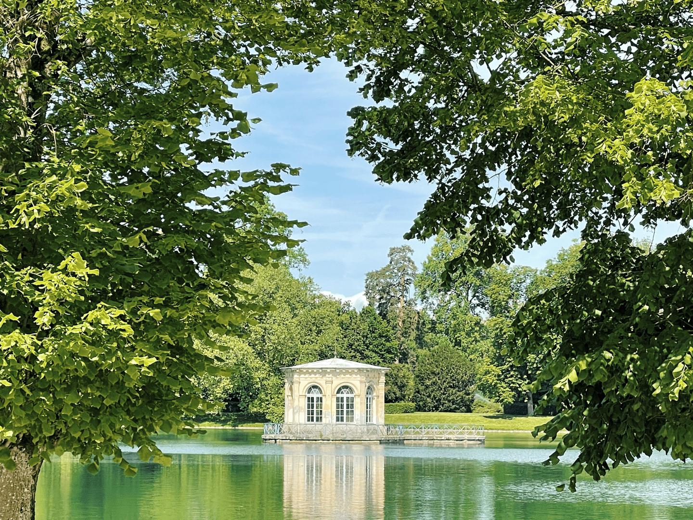 château de fontainbleau carp pond