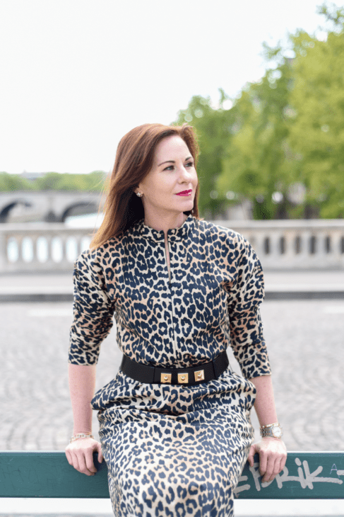 Leah Travels on Paris bridge