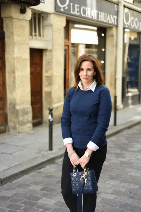 Leah Travels Dior bag in Paris